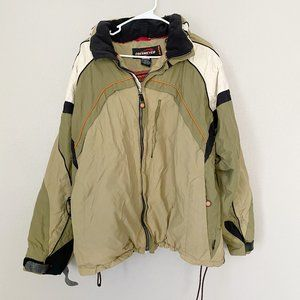 OBERMEYER ALT3 Green Ski Jacket SZ L